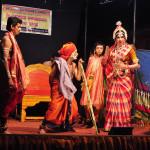 ಪೆರಡಾಲದಲ್ಲಿ 'ದಕ್ಷಯಜ್ಞ-ಧ್ರುವ ಚರಿತ್ರೆ' ಯಕ್ಷಗಾನ ಬಯಲಾಟ